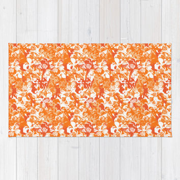 My orange butterflies Rug by Juliagrifol Designs | Society6