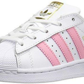 adidas Girls' Preschool Superstar Casual Shoes #BY3718 adidas original superstar
