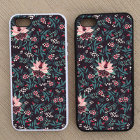 Floral Pattern iPhone Case, iPhone 5 Case, iPhone 4S Case, iPhone 4 Case - SKU: 135