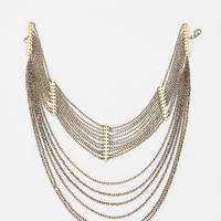 Urban Outfitters - Draping Chains Choker Necklace