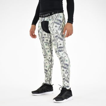 Money Benjamins Tights for men