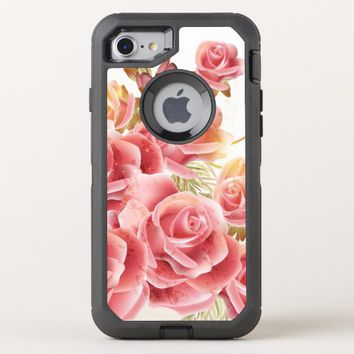 Rose Bouquet OtterBox Defender iPhone 8/7 Case