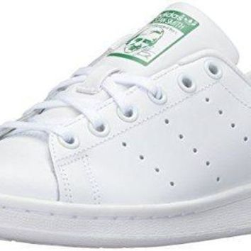 ONETOW adidas Performance Stan Smith J Tennis Shoe (Big Kid) adidas original shoe