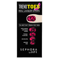 SEPHORA by OPI Trend Toes (16 Strips Pink Camo)