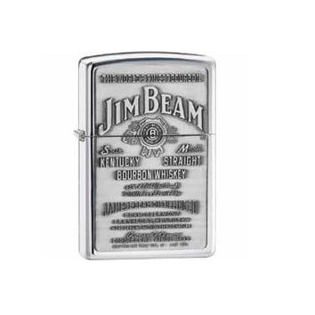 Jim Beam Pewter Emblem Zippo® Lighter