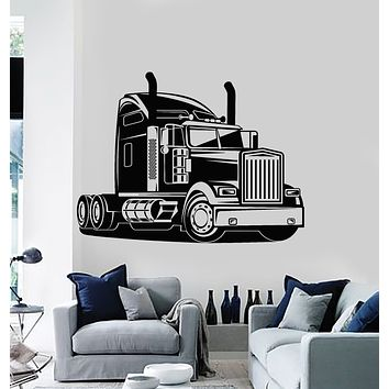 Vinyl Wall Decal All-Terrain Vehicle Big Truck Auto Car Machine Wagon Stickers Mural (g712)
