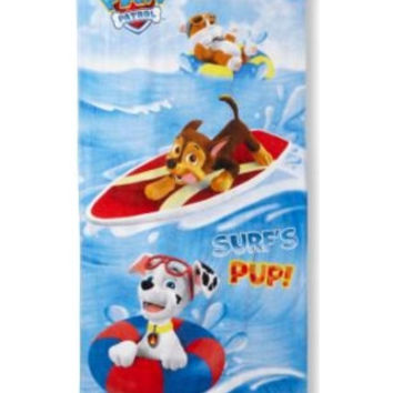 Kids, Toddlers, Nickelodeon Paw Patrol Beach Towel