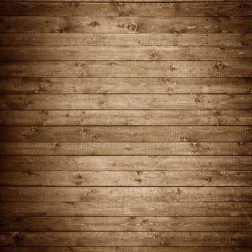 BROWN CABIN WOOD CANDY FLOOR BACKDROP - 4x8 - LCCF1367 - Last Call