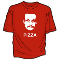 DFTBA Records :: BACKORDERED:: Pizza John T-Shirt