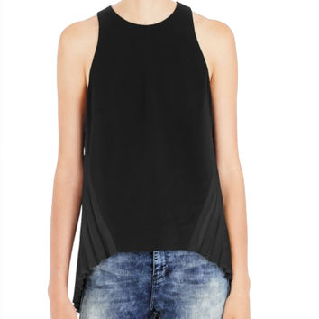 Sass and Bide One Must Fly Black Top