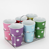 Dot Cup - Set Of 6