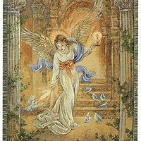 Angel of Light I Wall Tapestry Afghans