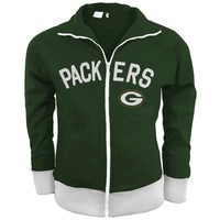 Green Bay Packers - Tennis Premium Juniors Stretch Track Jacket