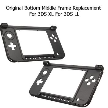 Housing Shell Cover Case Original Bottom Middle Frame Replacement Kits Console Cover for Nintendo For 3DS XL/LL Game Console