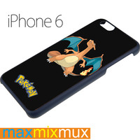 Charizard Lizardon Flame Pokemon #2 iPhone 6/6+ Series Hard Case