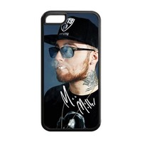 Mystic Zone Personalized Hiphop Singer Mac Miller Cover Case for Iphone 5C TPU (Cheap IPhone5)