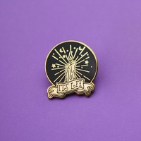 It's Lit Candle Enamel Pin
