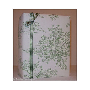 Sage Cherub (Central Park Toile) Photo Album by toilechicboutique