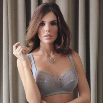Soft Wireless Bra Full Figure Sassa Mode Lovely Secret