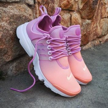 Sale Nike Air Presto Ultra BR Wmns Sunset Glow Sport Shoes Runni bfe4c73537