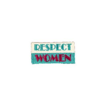 HOME :: Pins & Patches :: PATCHES :: RESPECT WOMEN PATCH