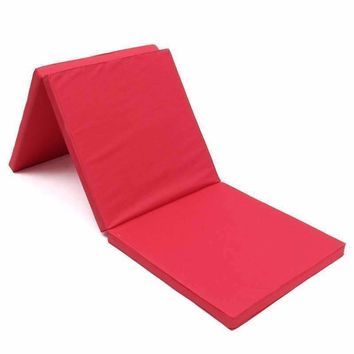 Folding Panel Gymnastics Mat Gym Exercise Yoga Mat Pad Yoga Blankets For Outdoor Training Body Building
