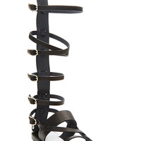 Alethea Tall Leather Gladiator Sandals