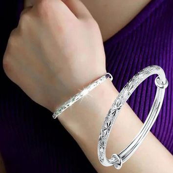 Adjustable Bracelet Charm Bangle Bracelet