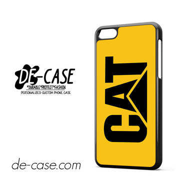 Yellow Caterpillar Logo DEAL-12123 Apple Phonecase Cover For Iphone 5C