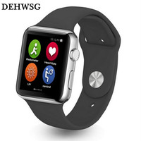 DEHWSG 1:1 Smart Watch Heart Rate Monitor Bluetooth iwo SmartWatch for Apple IPhone IOS Android Look