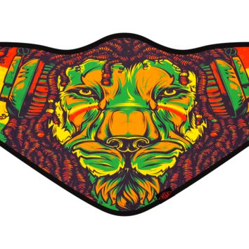 Rasta Lion Flyweight Mask™