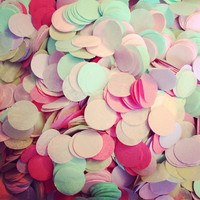 Tissue Paper Confetti // weddings // birthdays // party decorations // table decoration // flower girl