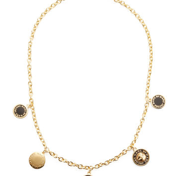 Marc by Marc Jacobs Jewelry Women's Collected Charms Station Necklace
