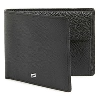 Men's Porsche Design 'French Classic 3.0' Leather Billfold Wallet - Black