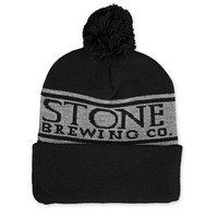 Stone Brewing Co. Black Winter Hat | WearYourBeer.com