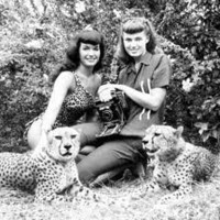 Bettie Page (photographed with Bunny Yeager)