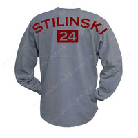 Teen Wolf Stilinski Oxford Grey Spirit Jersey - 2 sided