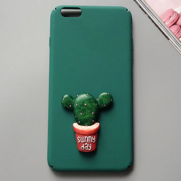 New Cactus iPhone 7 7 Plus & iPhone 6 6s Plus & iPhone 5s se Case Personal Tailor Cover + Gift Box-481