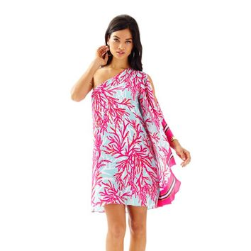 Marlee One Shoulder Dress - Lilly Pulitzer
