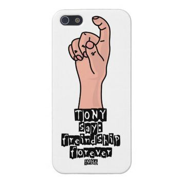 The Shining Friendship Forever Funny iPhone 5 case from Zazzle.com