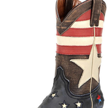 Women's Redneck Riviera Freedom Square Toe Boot - Vintage Cinnamon