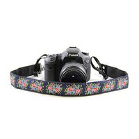 Bouquet Navy 1.5In Camera Strap - Capturing Couture - CASLR15-BQNV