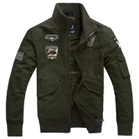 Casual Men's Fashion Plus Size Jacket [10824551107]