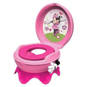 Disney Baby Toilet Training Children Potty Trainer Seat Chair, Minnie Mouse