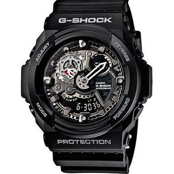 G-Shock Ga300-1A Watch Black One Size For Men 22145410001