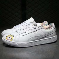 Puma x Minions Old Skool Women Fashion Running Sneakers Sport Shoes