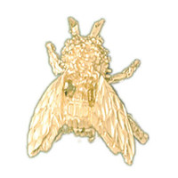 14K GOLD BEE CHARM #3174