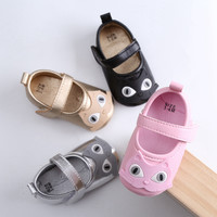 2017Soft Sole Baby Shoes Lovely Mouse Cat Comfortable Toddler Baby Girl Shoes Air-Permeable Fashionable Style Newborn ShoesX1501
