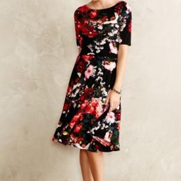 Photostat Floral Dress