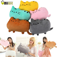 Home Decorative Cute Pillows Big Cat Pillow For Kids Adults Sofa Throw Pillows For Couch Bed Chair Soft Plush Toy Doll Cushion